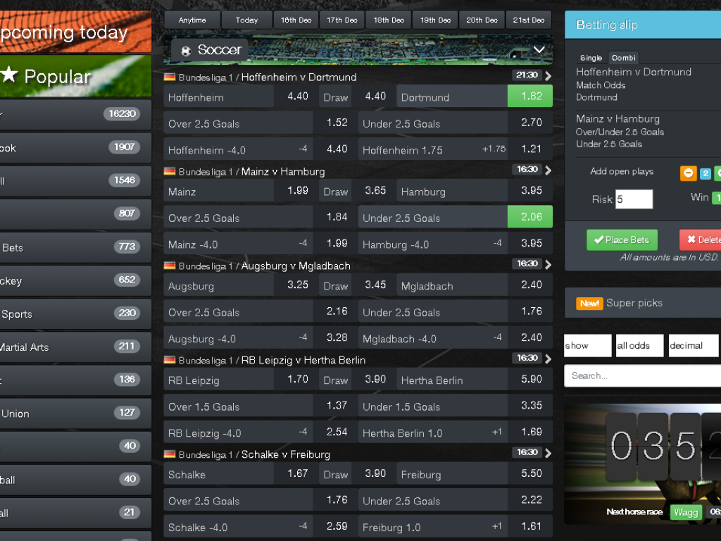 the most flexible sportsbook software
